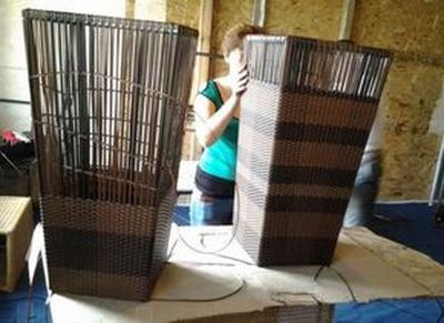 Мебель из искусственного ротанга своими руками 25
